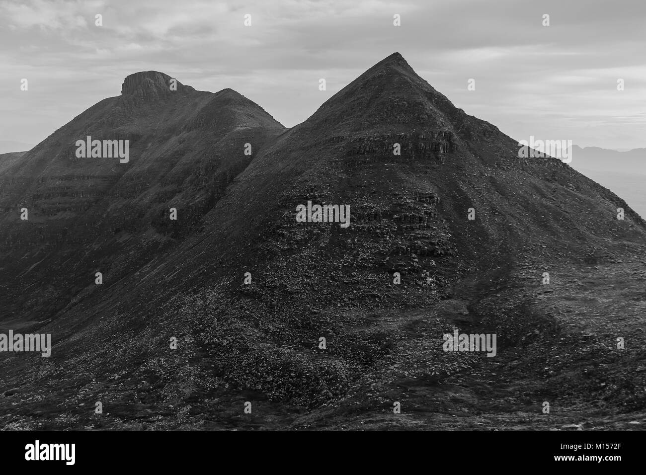 Quinag, Assynt, North West Scotland - Stock Image