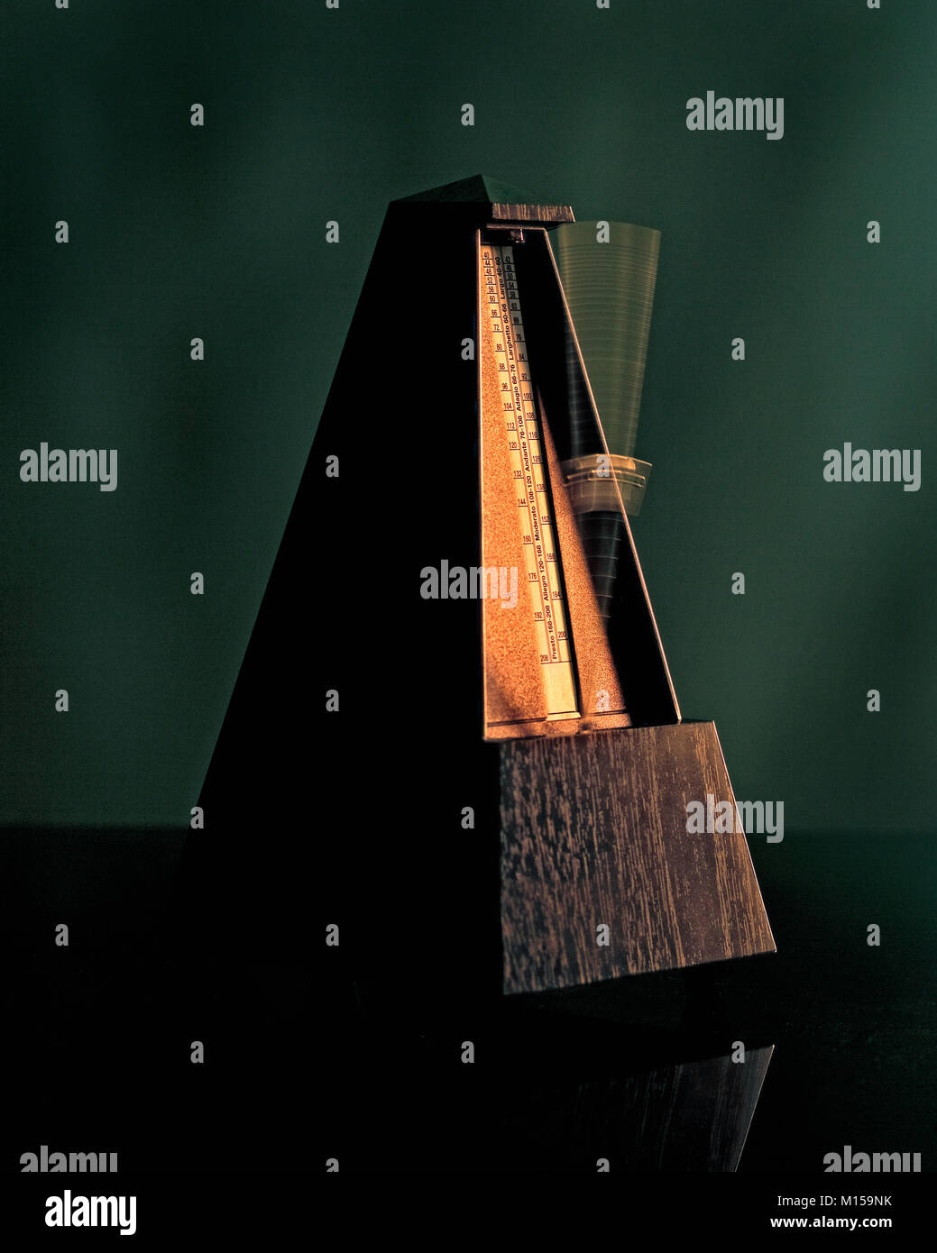Metronome - The Instrument of Keeping Correct Beat Playing Music - Stock Image