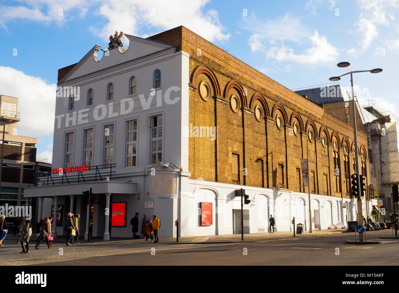 The Old Vic theatre - London, England - Stock Image