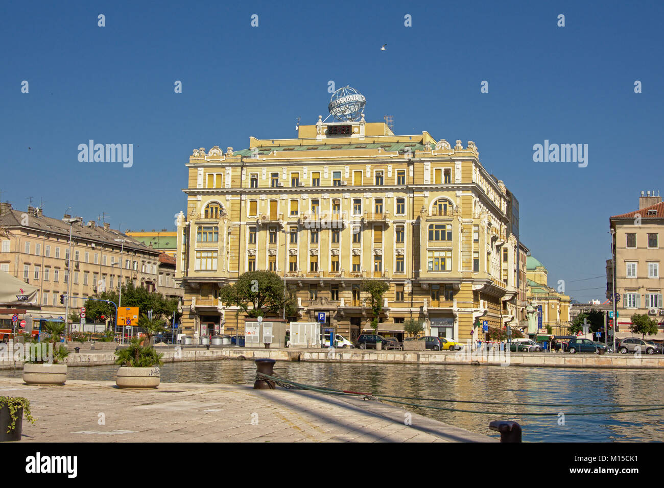 Download Neo Renaissance Building In The Port Of Rijeka Editorial Stock Image - Image of historic, downtown: 96895619 - Stock Image