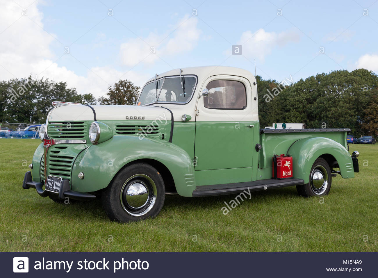 1940s Truck Stock Photos Images Alamy 1949 Dodge Panel Van Pick Up From The Late Image
