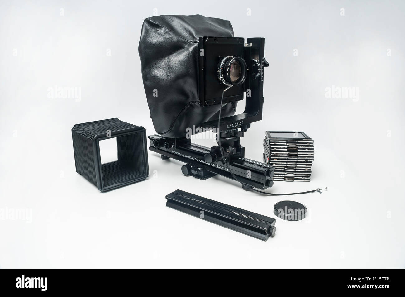 Horseman 4X5 Large Format View Camera - Stock Image