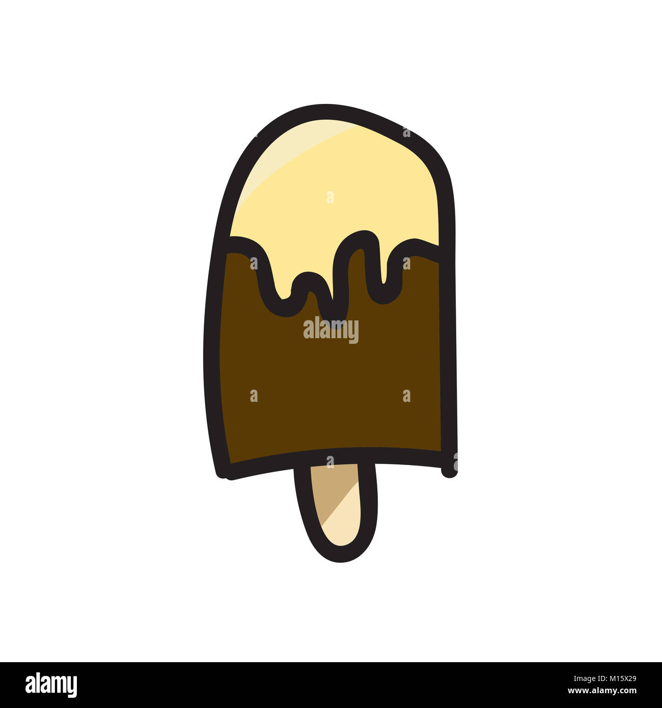 ice cream vectors - Stock Image