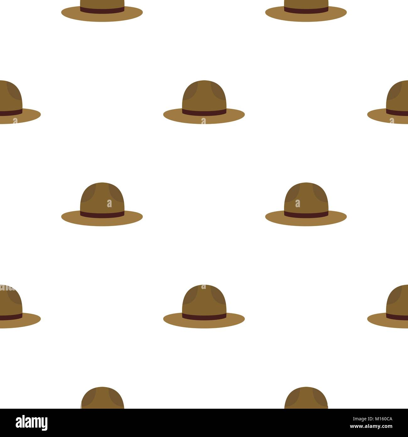 Hat officer of canadian equestrian cavalry pattern - Stock Image