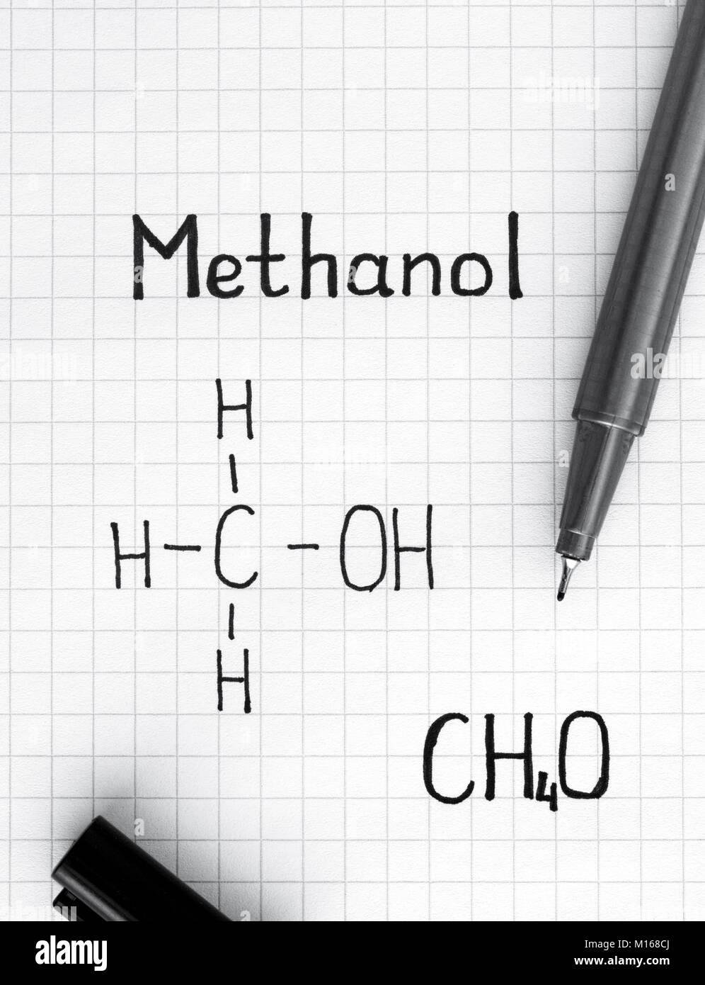 Methanol Methyl Alcohol Stock Photos & Methanol Methyl