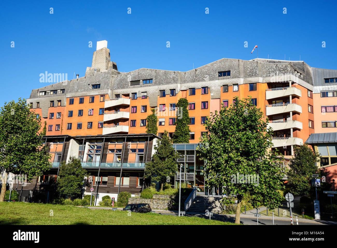 Community hospital, anthroposophic hospital, Herdecke, Dortmund, North Rhine-Westphalia, Germany - Stock Image