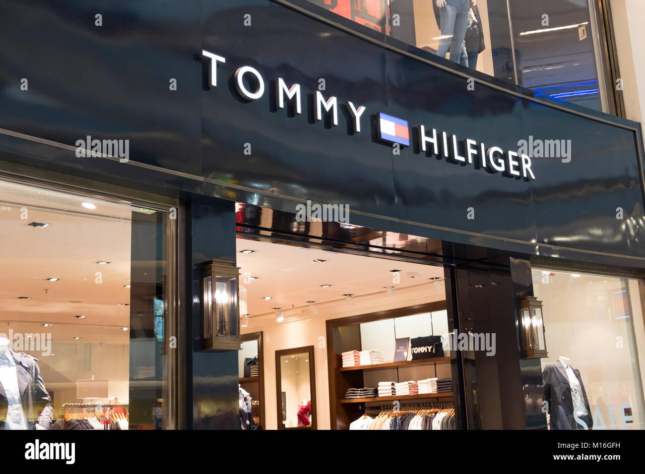 311b0bdea Tommy Hilfiger Clothing Stock Photos   Tommy Hilfiger Clothing Stock ...