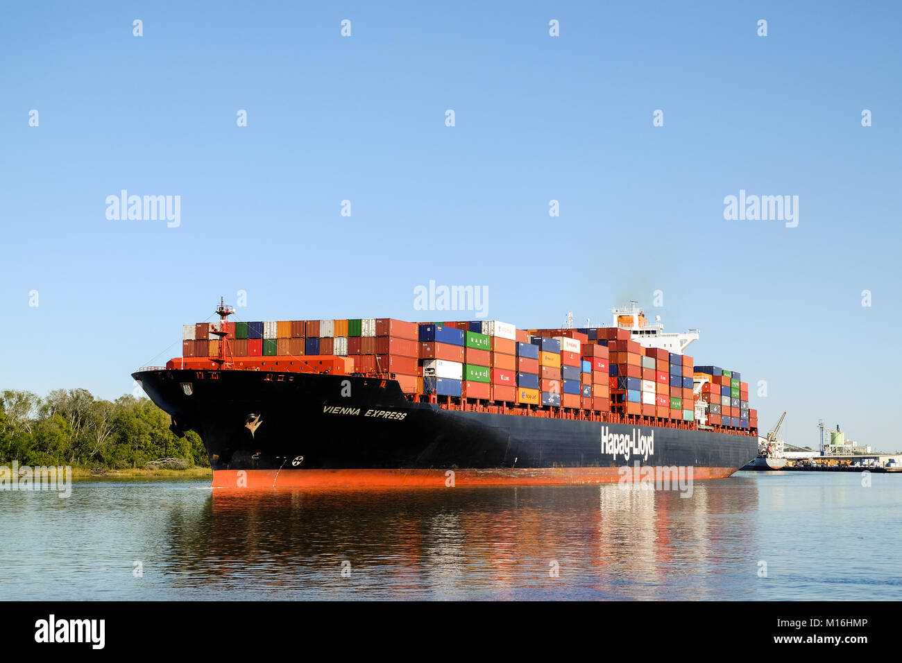 Usa Georgia Ga Savannah Container Stock Photos & Usa Georgia