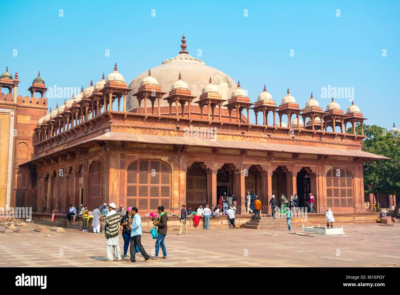 Fatehpur-Sikri, Uttar Pradesh, Inde - Stock Image