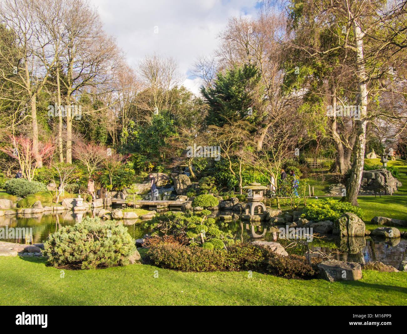 Kyoto Garden Holland Park London Stock Photos & Kyoto Garden Holland ...
