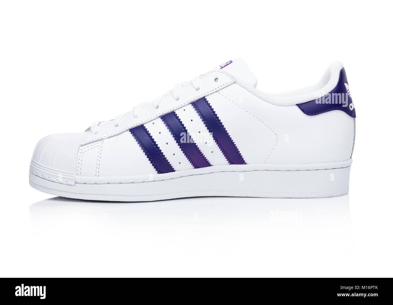 adidas superstar blue line