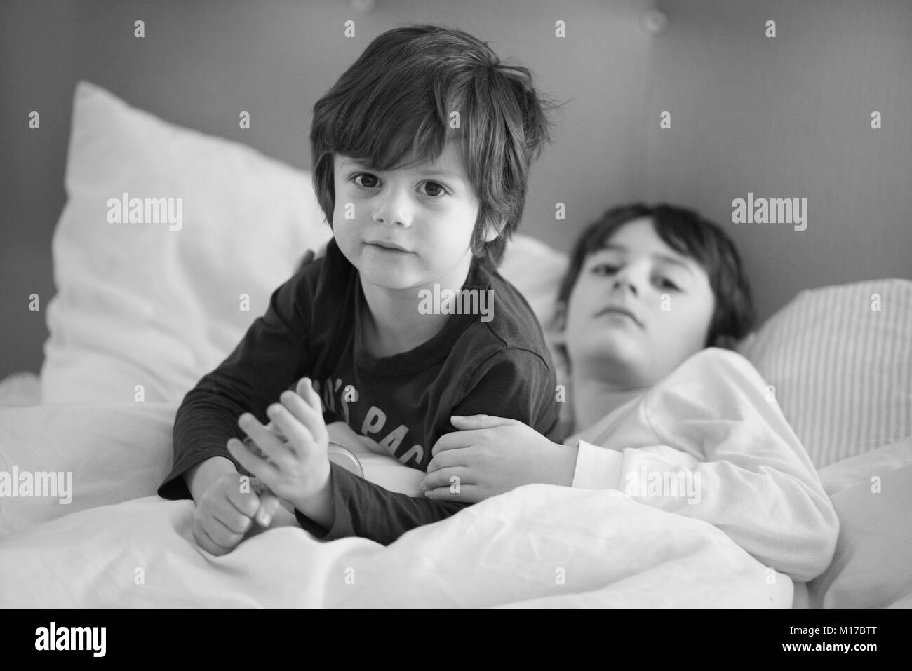 Brothers - Stock Image