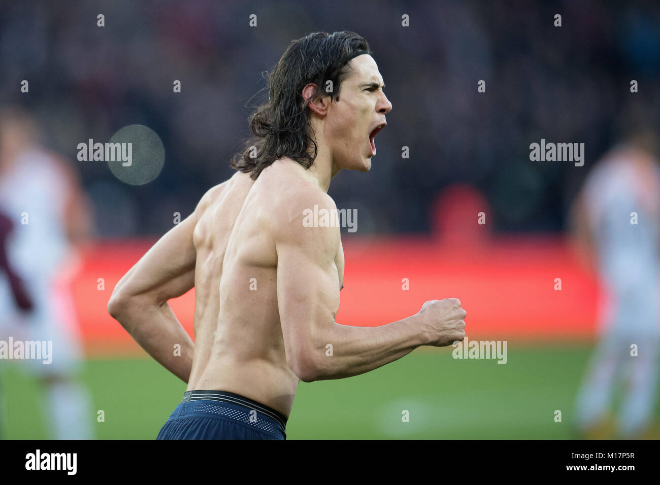 Edinson Cavani High Resolution Stock Photography And Images Alamy