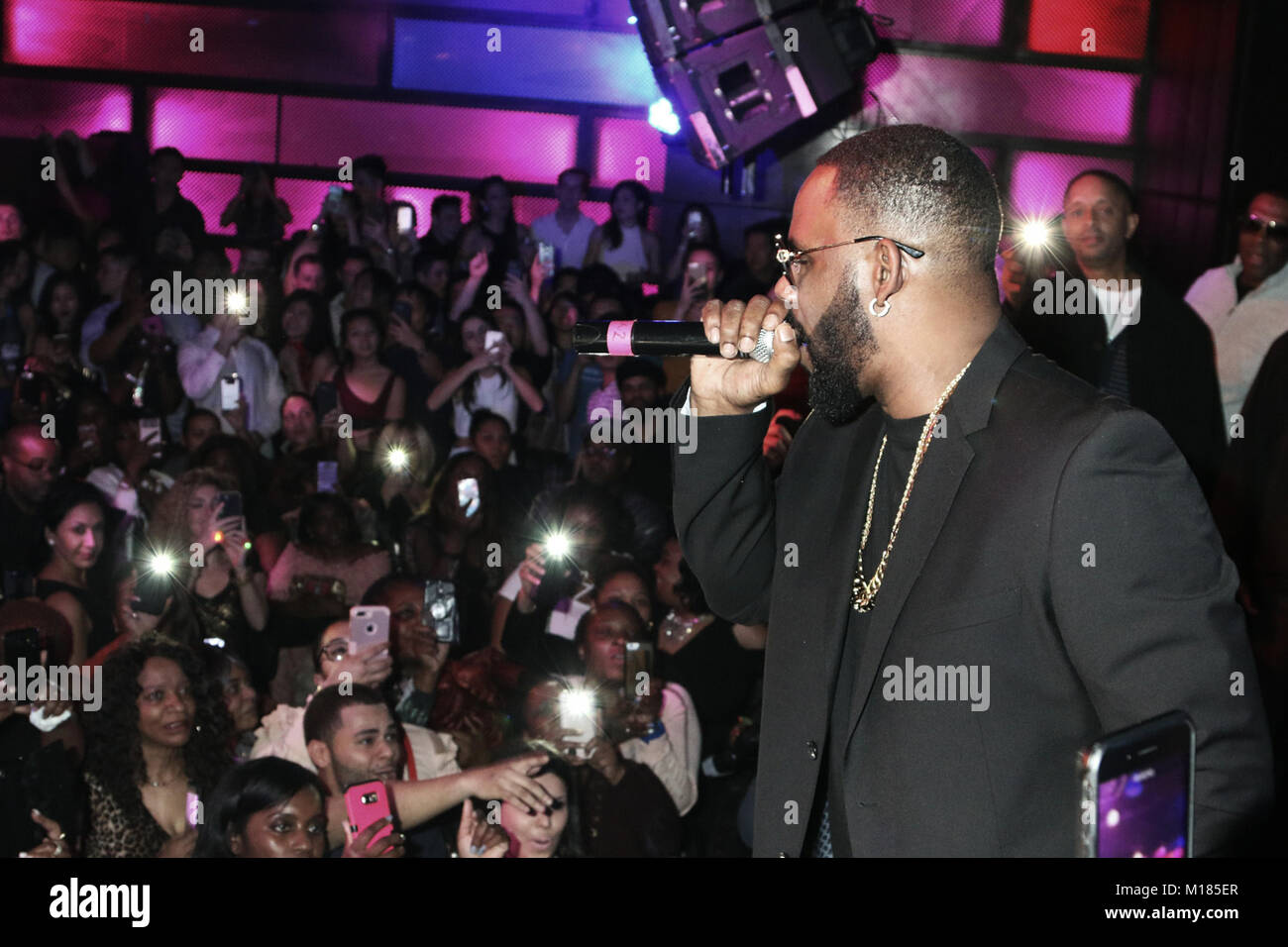 New York, NY, USA  27th Jan, 2018  R  Kelly pictured during an Stock