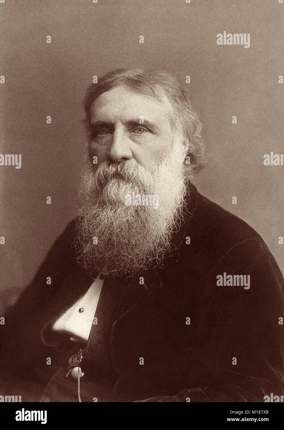 George MacDonald (1824-1905) was a Scottish writer and Christian minister who was a literary influence on CS Lewis, - Stock Image