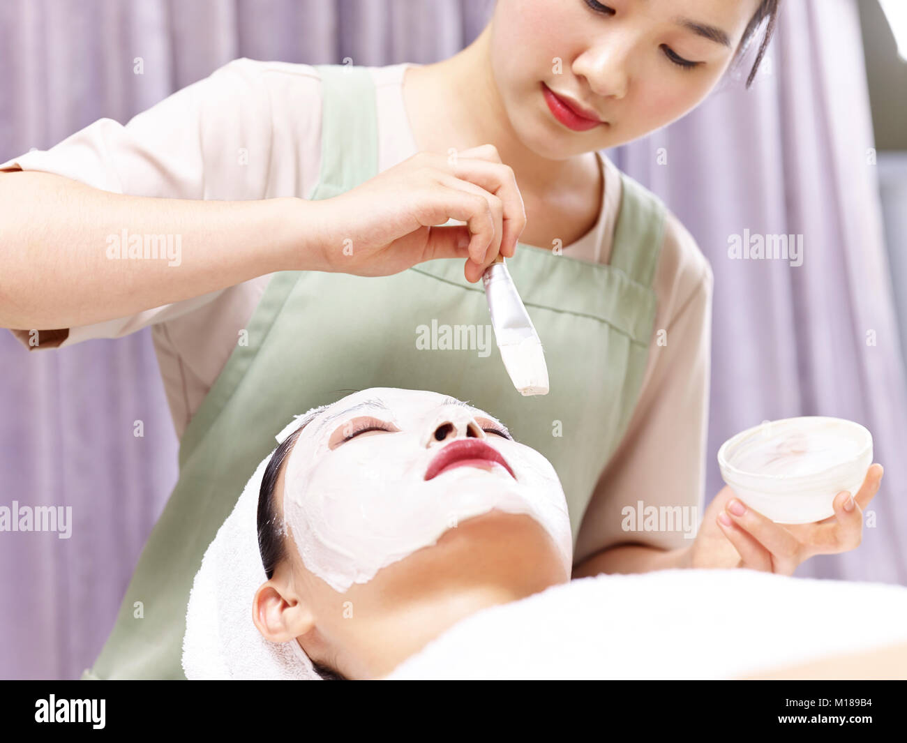 chinese beautician stock photos chinese beautician stock images