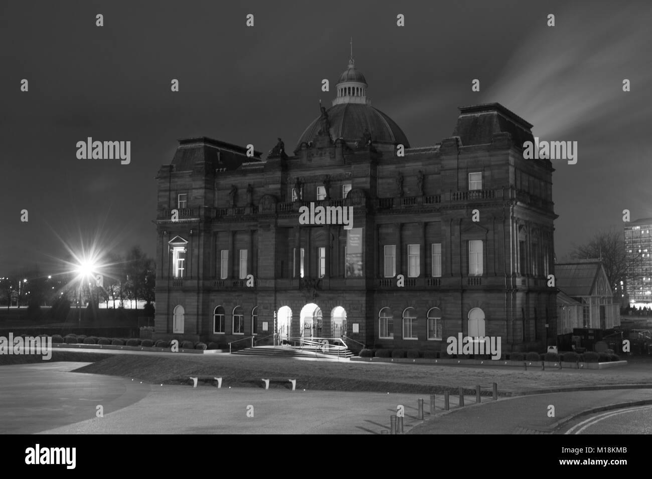 Abandoned Buidings Glasgow. - Stock Image