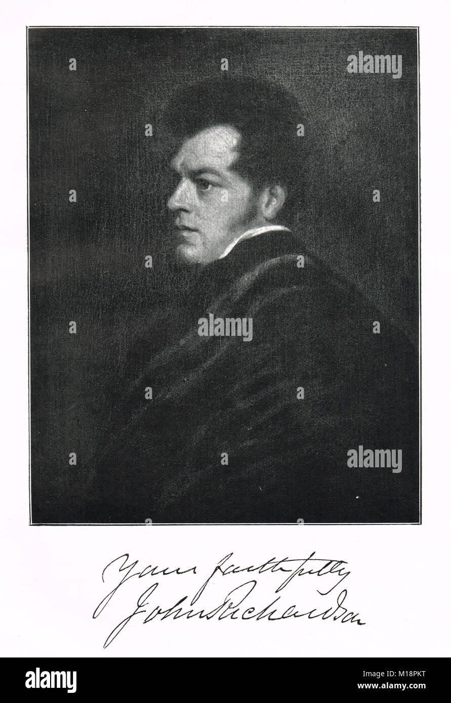 Sir John Richardson, 1787–1865, Scottish naval surgeon, naturalist and arctic explorer - Stock Image