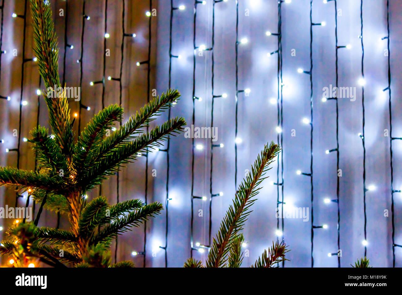 Scotland Christmas Lights Stock Photos & Scotland