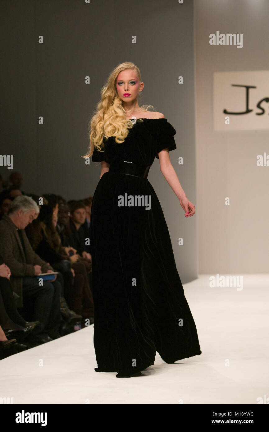 London Fashion Week collection by Issa Stock Photo