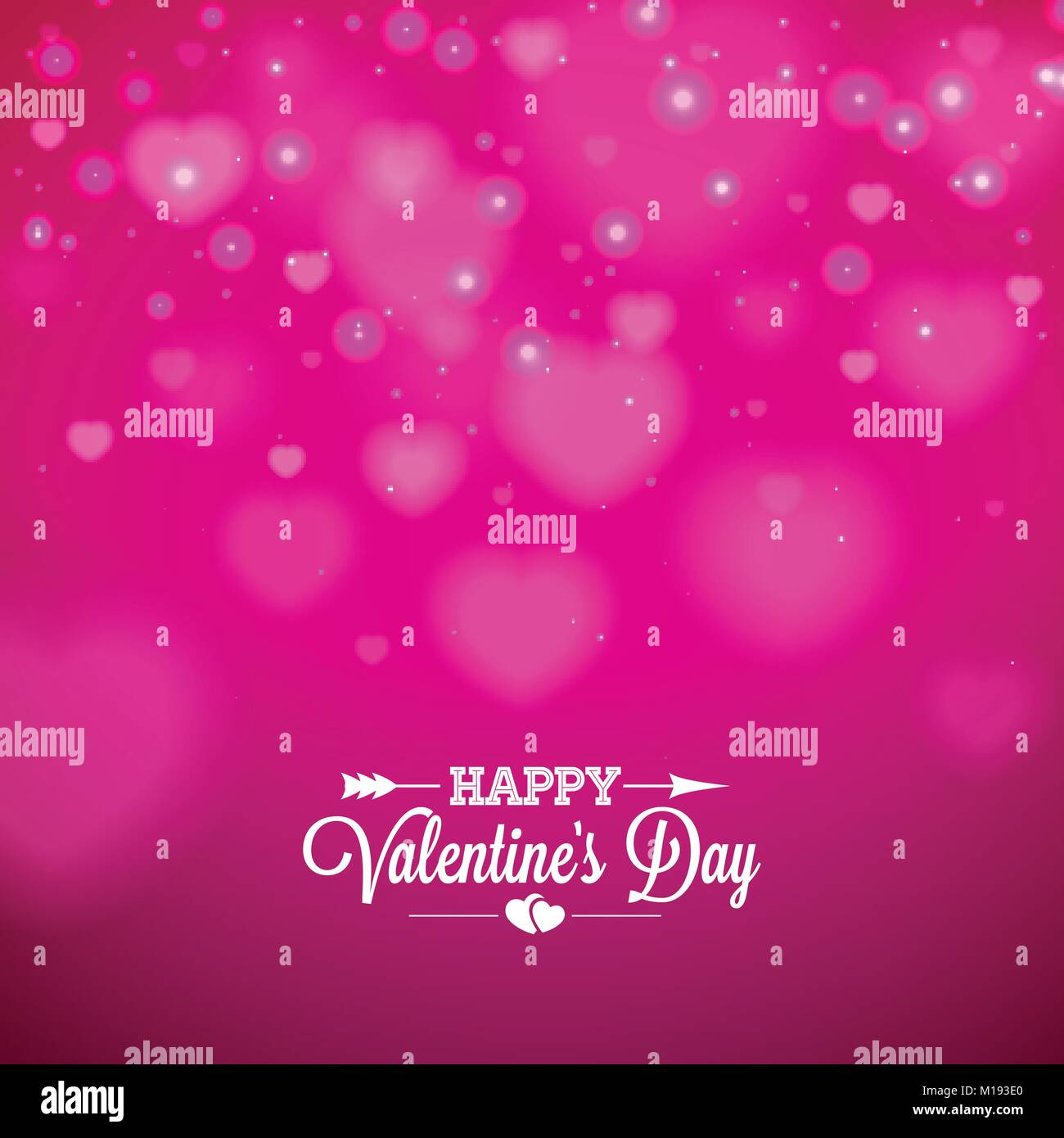 Happy valentines day background with shiny heart and typography happy valentines day background with shiny heart and typography letter vector holiday wedding and love theme design for greeting card party invitation or stopboris Images