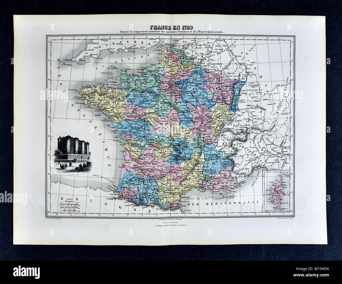1877 migeon map france in 1789 french revolution bastille 1877 migeon map france in 1789 french revolution bastille paris gumiabroncs Gallery