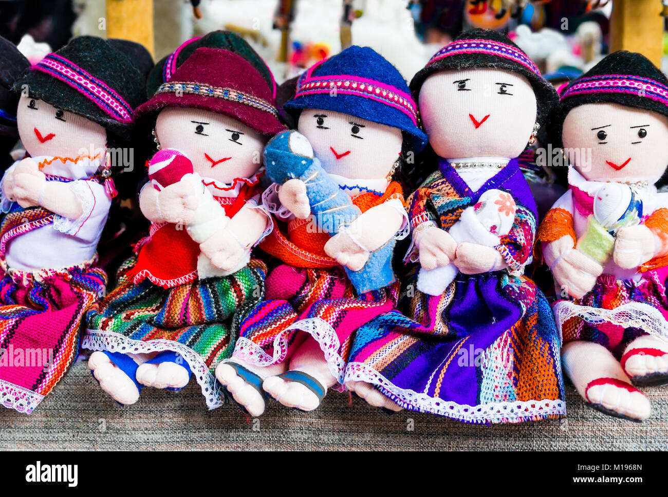 Dolls In Otavalo Market Ecuador High Resolution Stock Photography And Images Alamy