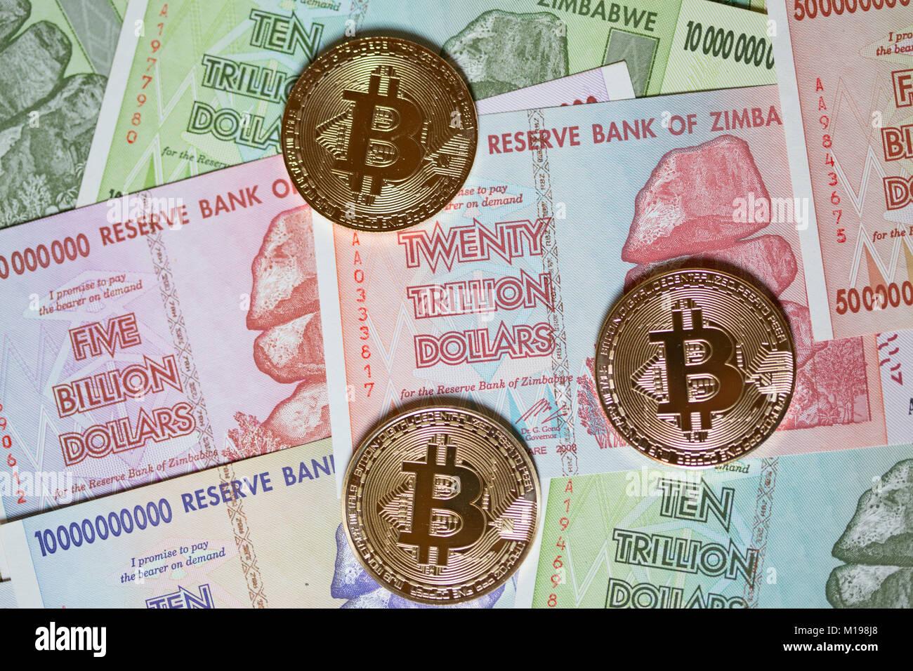 Zimbabwe Economy Concept Stock Photos & Zimbabwe Economy Concept