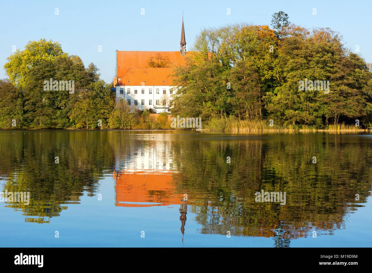 Klosterkirche in Bordesholm, Schleswig-Holstein, Deutschland - Stock Image