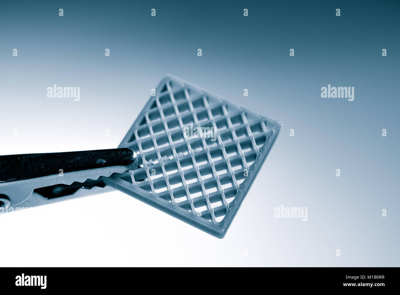 Sample metamaterial manufactured by 3dprinting - Stock Image