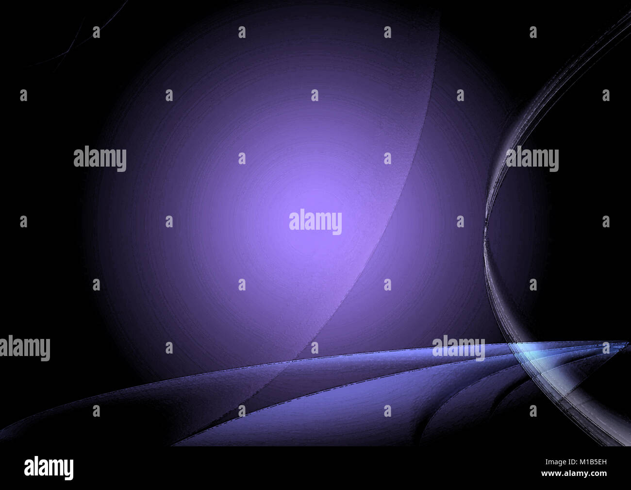 Abstract Background In Shades Of Purple