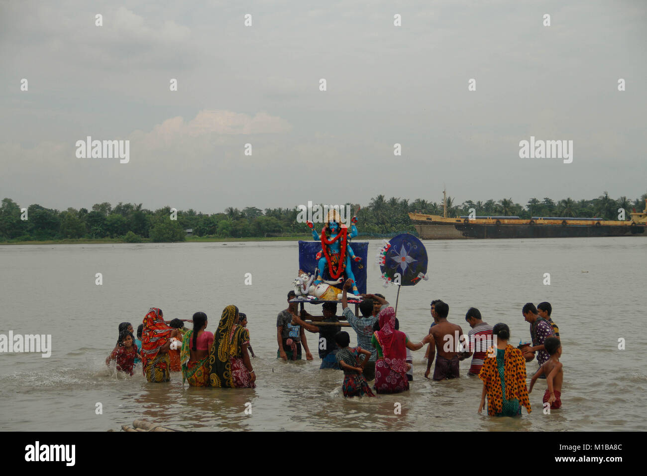 Immersion of Kali - Stock Image