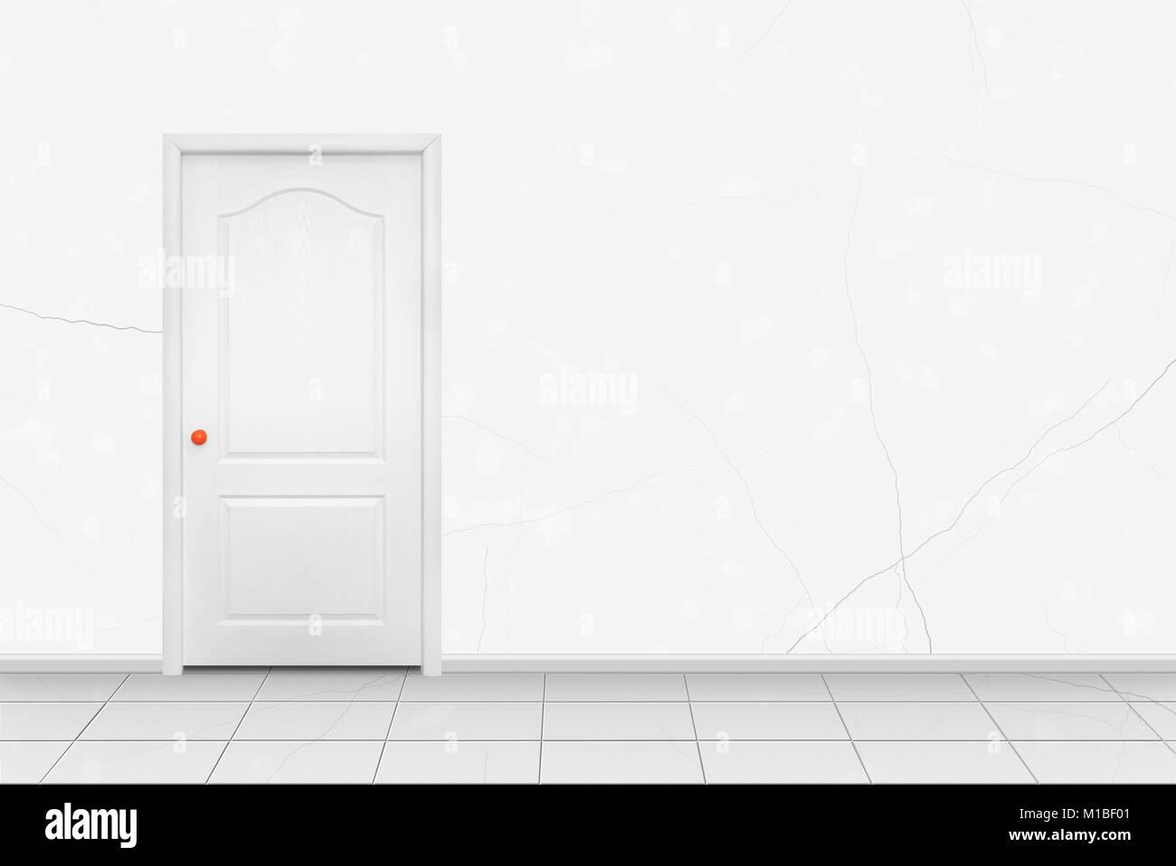 inside door. Unique Door Home Interior  White Inside Door In The Orange Handle Front Of White  Wall Background Intended Inside Door