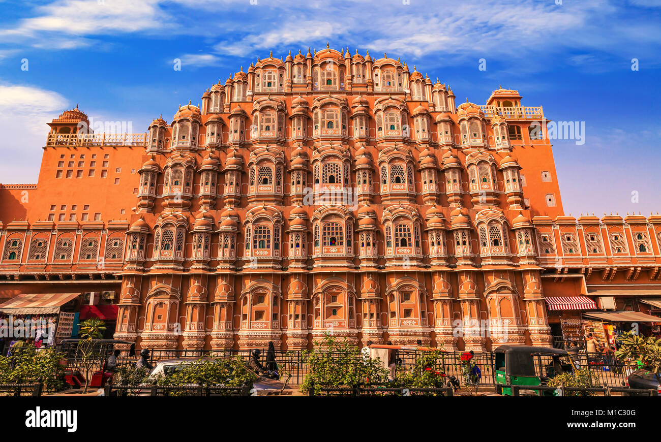 famous ancient architecture. Beautiful Architecture Hawa Mahal Jaipur Rajasthan  Famous Ancient Architecture Constructed With  Red And Pink Sandstone To Ancient Architecture T