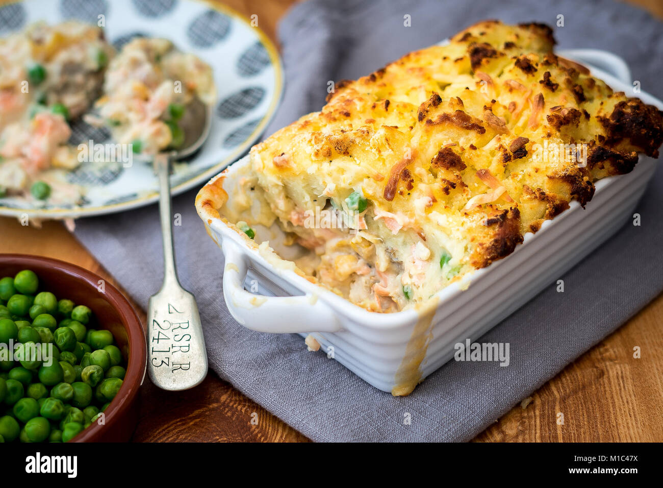 Fish Pie - Stock Image