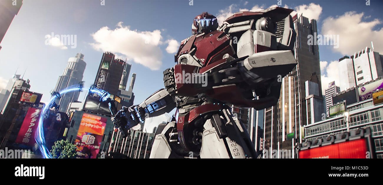 PACIFIC RING UPRISING 2018 DDY film - Stock Image