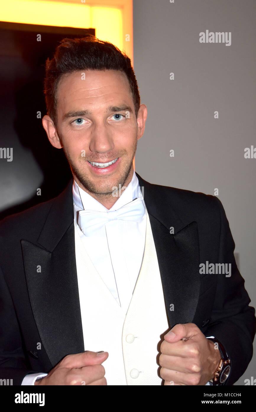 Marcel Remus, geboren am 3. Oktober 1986, wurde durch die VOX-Sendung 'mieten, kaufen, wohnen' zu einem - Stock Image