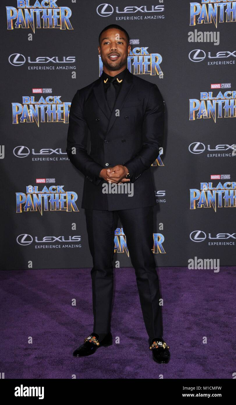 fd83e21ebf5 Michael B. Jordan at arrivals for Marvel Studios BLACK PANTHER Premiere,  The Dolby Theatre at Hollywood and Highland Center, Los Angeles, CA January  29, ...