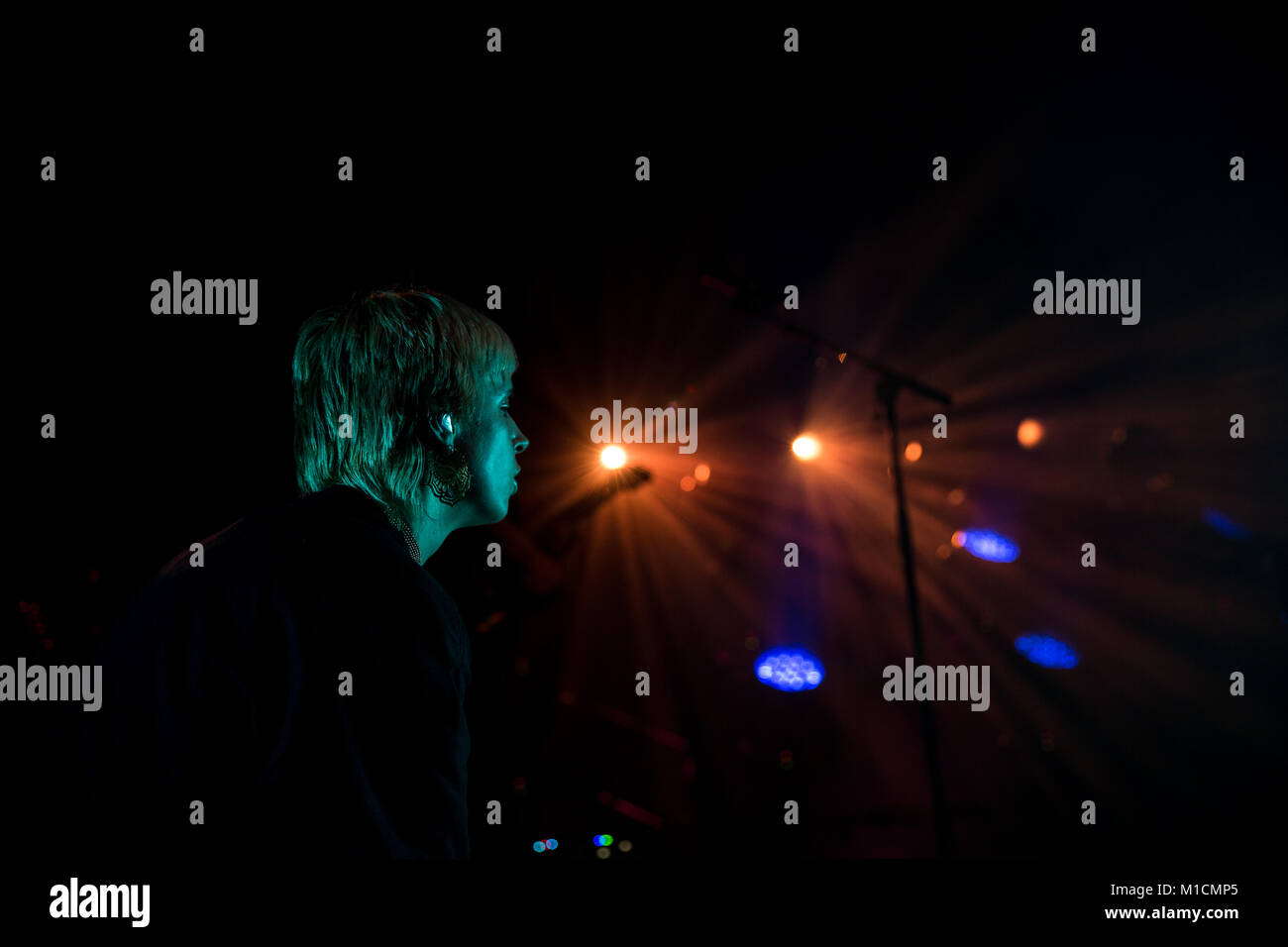 Toronto, CANADA. 29th Jan, 2018. Danish dance music artist Karen Marie Aagaard Ørsted Andersen, better known - Stock Image