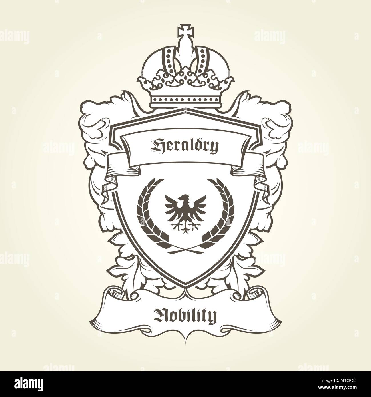 Royal Banner Of Arms Stock Photos & Royal Banner Of Arms Stock ...