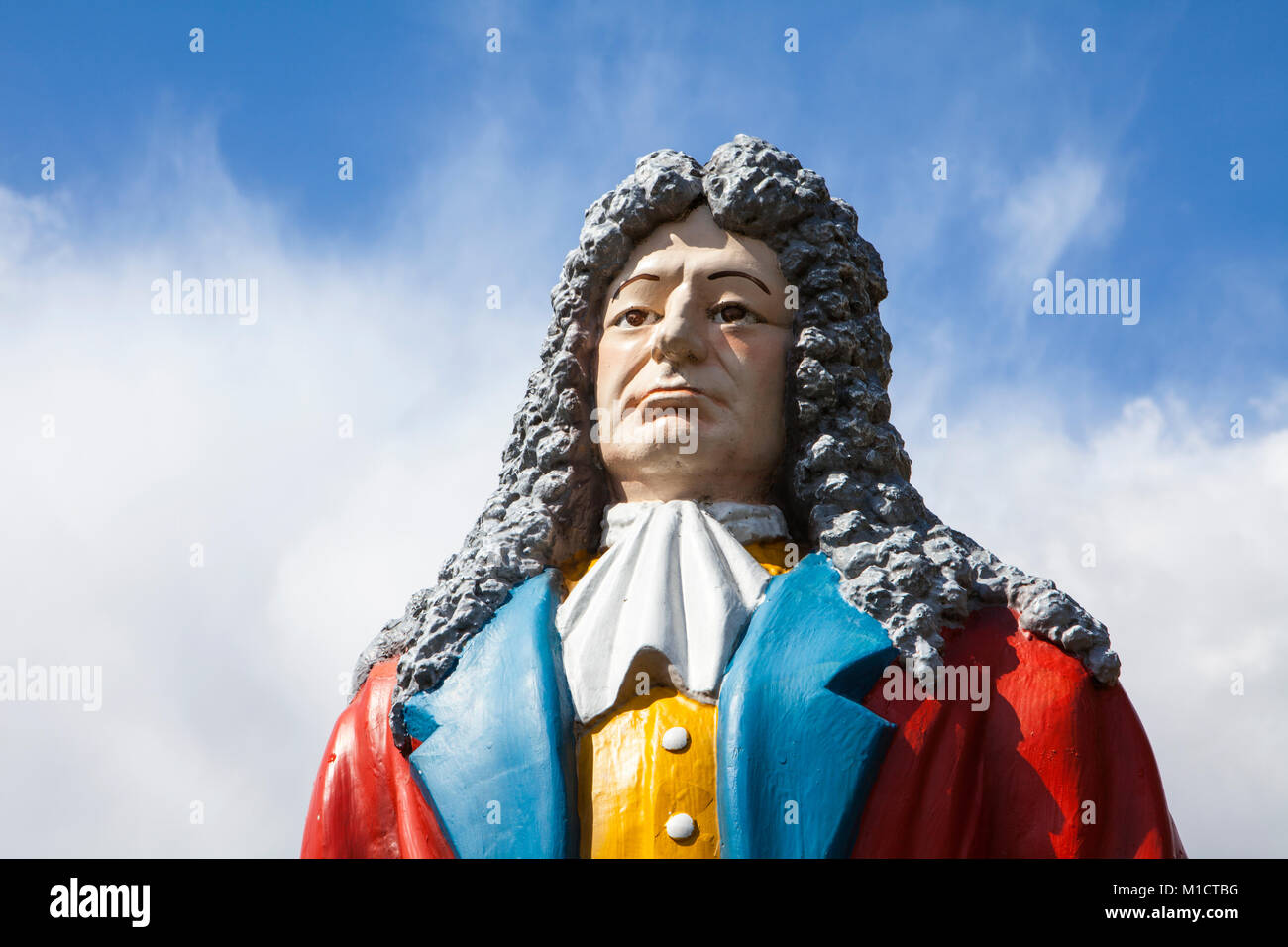 Doctor Eisenbarth or Johann Andreas Eisenbarth, 1663 –1727,  Hannoversch Münden, Lower Saxony, Germany, - Stock Image