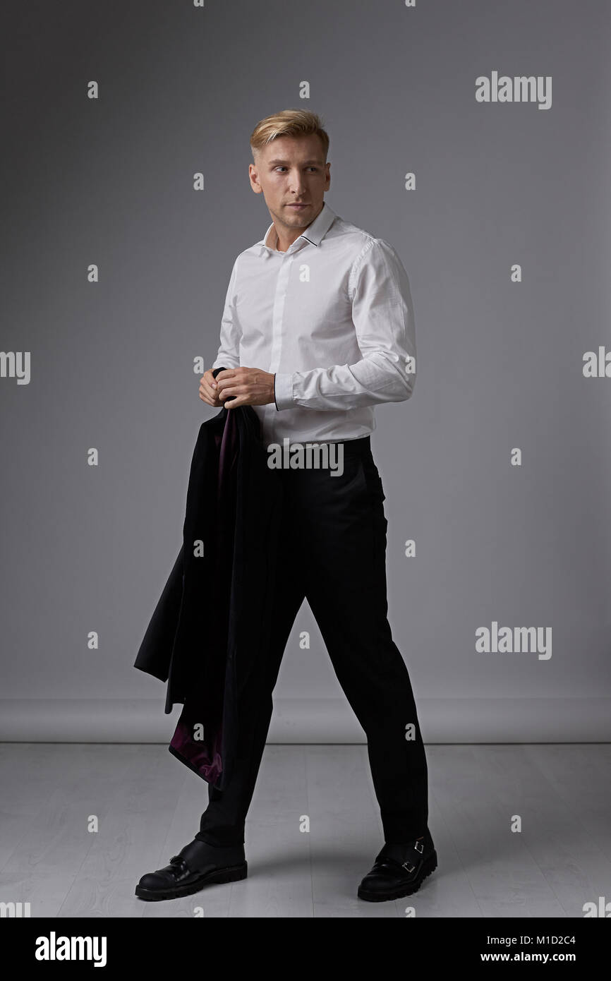 Confident businessman portrait  - Stock Image