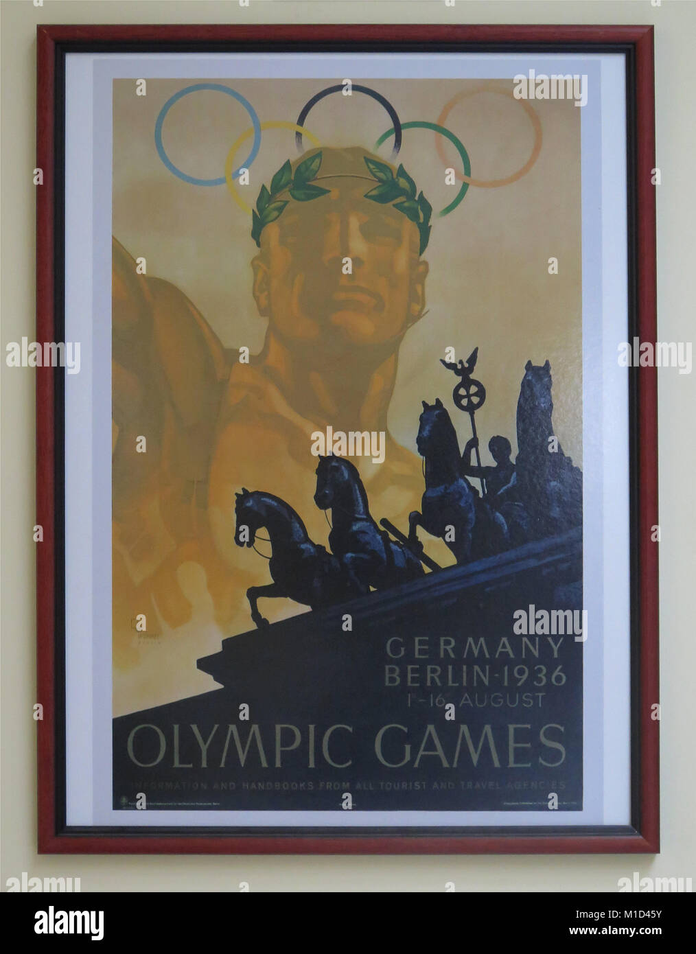 Poster Ausstellung Panathinaiko Stadion Athen