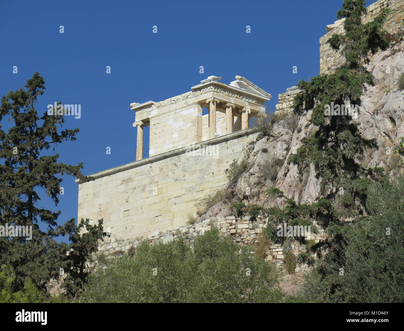 Niketempel, Akropolis, Athen, Griechenland - Stock Image