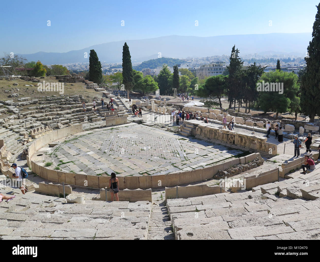 Dionysostheater, Akropolis, Athen, Griechenland - Stock Image