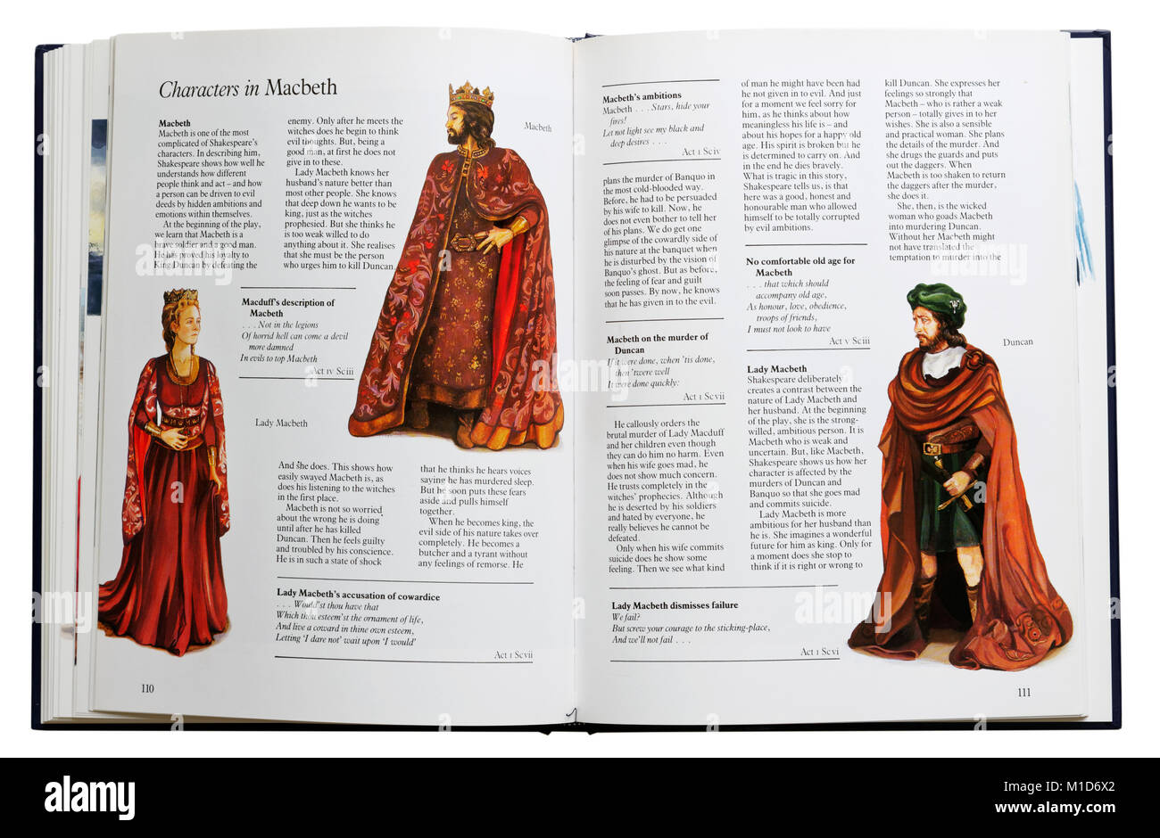 the description of the way macbeth and lady macbeth changed throughout shakespeares macbeth Throughout macbeth, lady macbeth is seen as a lady who does much to encourage her husband into regicide, but the actual story of lady macbeth-- or gruoch of scotland, as she is known is history.