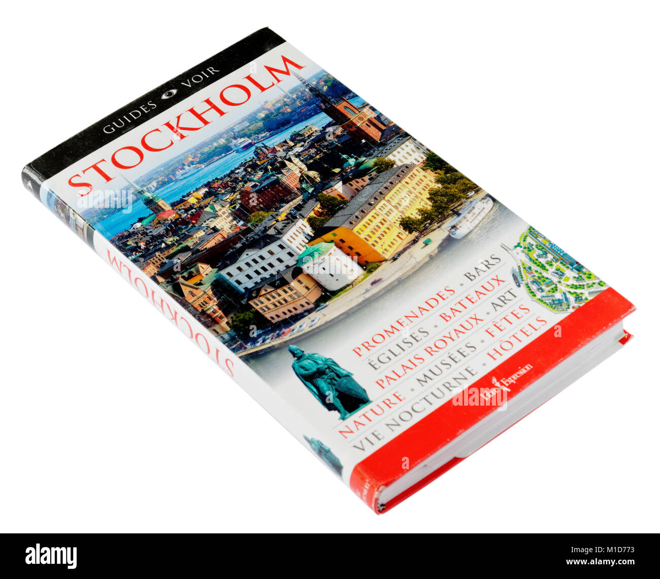 The Guides Voir city guide to Stockholm - Stock Image