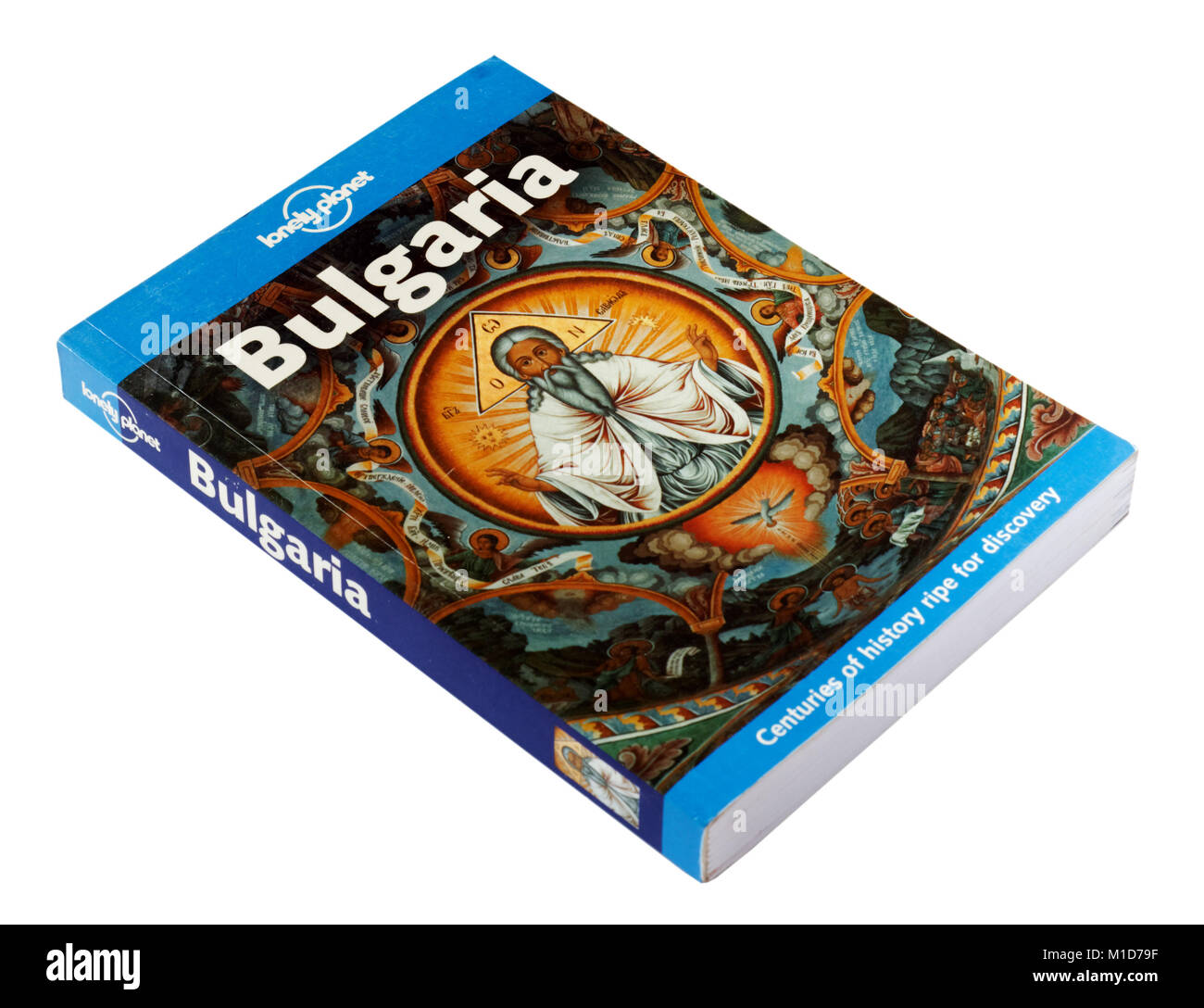 The Lonely Planet guide to Bulgaria - Stock Image