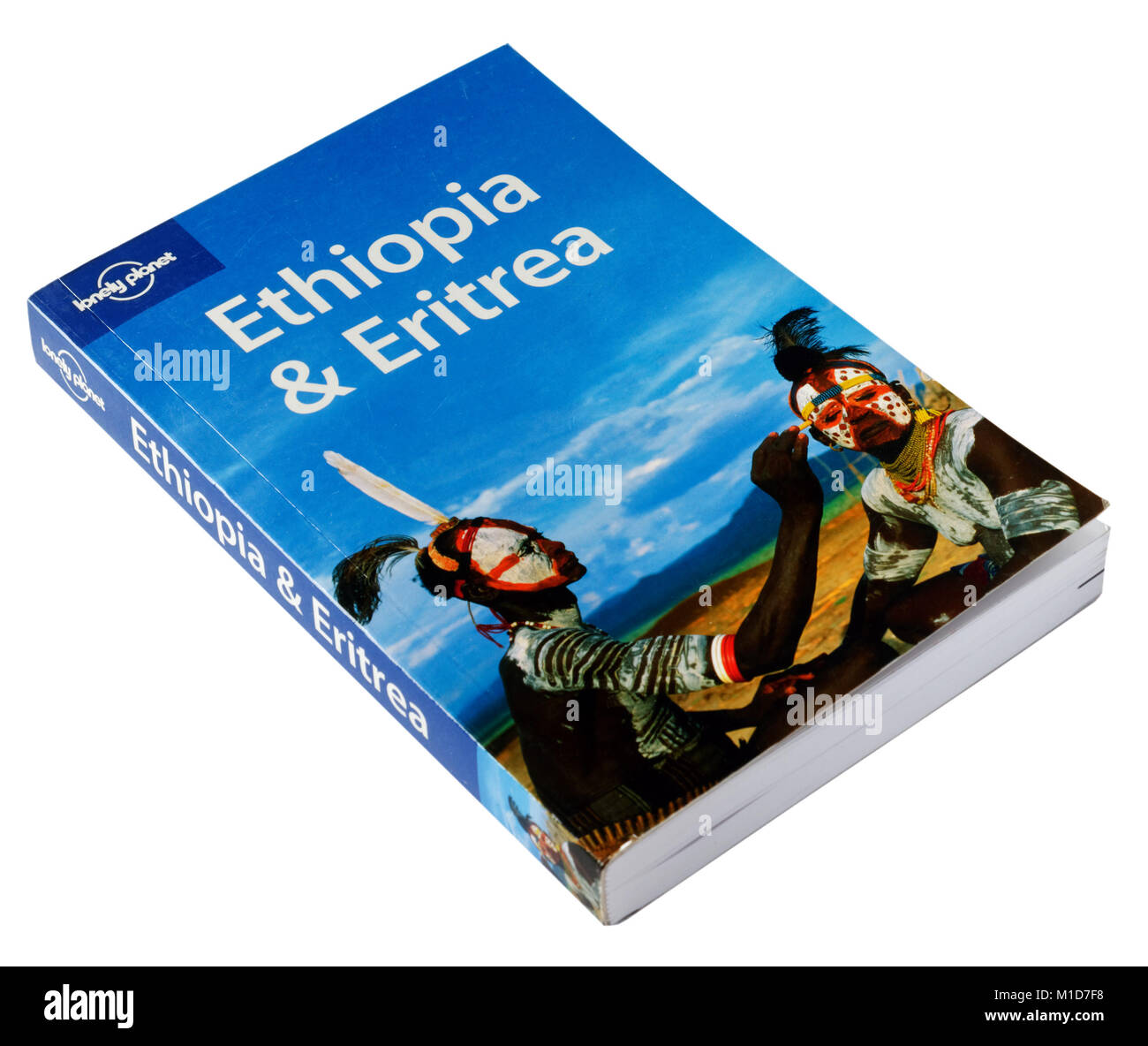 The Lonely Planet guide to Ethiopia and Eritrea - Stock Image