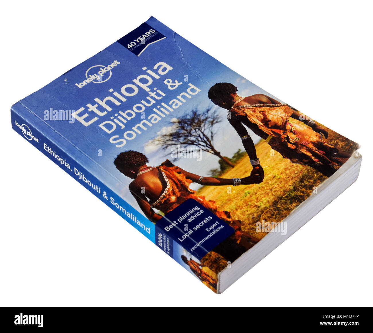 The Lonely Planet guide to Ethiopia, Djibouti and Somaliland - Stock Image